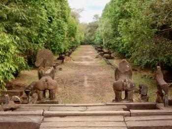Banteay Samre, 12th century, Siem Reap. Once a grand entranceway