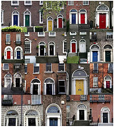 The Georgian Burglar Alarms of Dublin's Doors