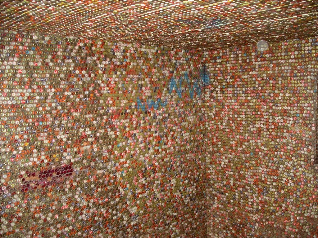 Bottle Cap Art Shed The Outsider Pages