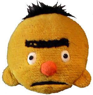 Handmade Bert face pillow