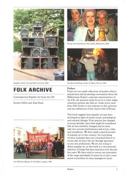Folk Archive book cover