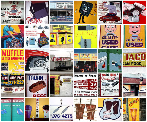 Roadside art: 100 Favorite Roadside Signs