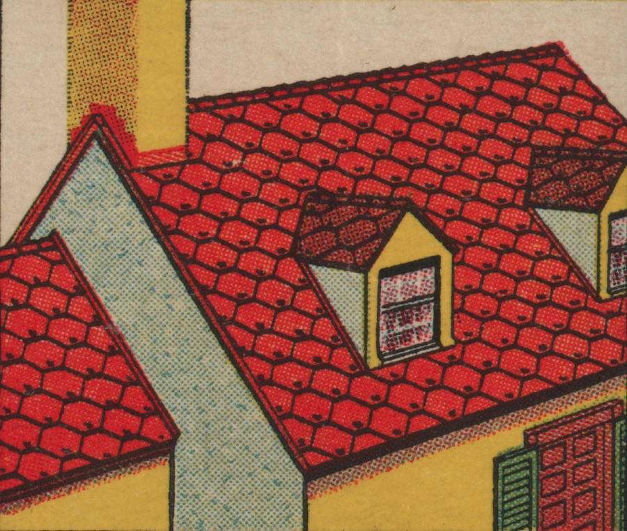 Roadside art: Vintage Architectural Miniatures from Matchbooks