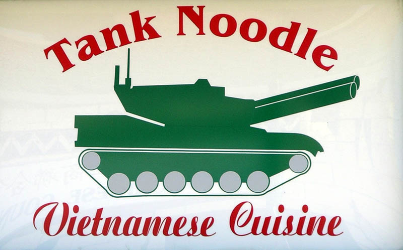Roadside Art: Tank Noodles
