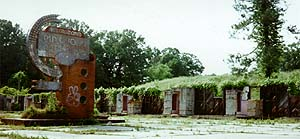 6K JPG of motel ruins