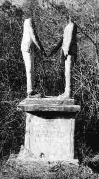 Wickham statues